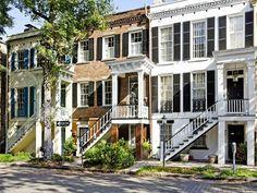 Historic Row House | Savannah, Georgia | Celia Dunn Sotheby's International Realty