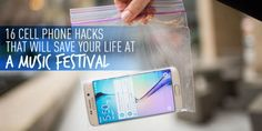16 Cell Phone Hacks That Will Save Your Life at a Music Festival  - Seventeen.com