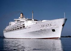 CRUISE SHIPS AND LINERS: S.S.ORIANA