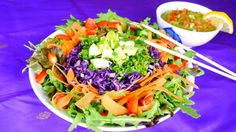 Yoga Festival, Vegan Dishes, No Cook Meals, Soul Food, Catering, Cabbage, Lunch, Restaurant, Dining