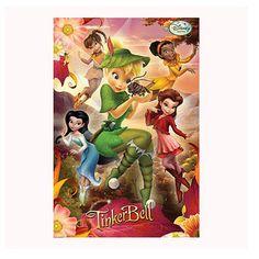 Disney Fairies 3D Bedroom Poster http://www.childrens-rooms.co.uk/disney-fairies-3d-bedroom-poster.html #disneyfairies #tinkerbell #fairies3dposter