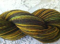 Handpainted Mystery Merino Wool soft LACE weight by beautifulyeah, $145.00