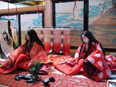 Another Genji Monogatari display at the costume museum.