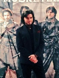 Tom Burke at the Paris launch of The Musketeers.