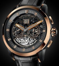Christophe Claret Allegro Minute Repeater Two Time Zone