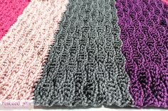 Crochet Wave Stitch Blanket By Krista Cagle ~ Free Crochet Patterns ~ (rescuedpaw)