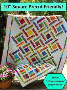 Quilt Pattern - Little Louise Designs - Double Strip Trip Lap Quilts, Jellyroll Quilts, Scrappy Quilts, Quilt Blocks, Denim Quilts, Batik Quilts, Jelly Roll Quilt Patterns, Quilt Patterns Free, Quilting Projects