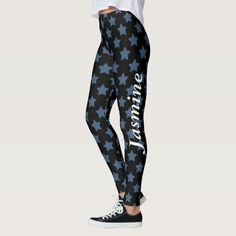 $62.55 Everybody Is A Star Personalized Leggings #saytoons