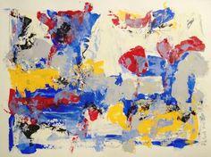 littoral - balade 2 : Acrylique sur papier - Phil Jacques