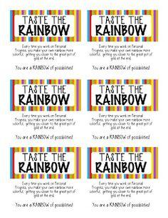 Kinzie's Kreations: Taste the Rainbow - Personal Progress Blitz