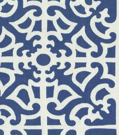Home Decor Print Fabric-Waverly Parterre Porcelain