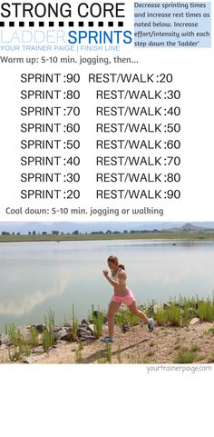 Sprints and Ab Workout