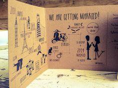 Helenca & Paul - Print the Legend Wedding Themes, Wedding Cards, Wedding Ideas, Wedding Stationary, Wedding Invitations, Invites, Italy Wedding, Our Wedding, Save Date
