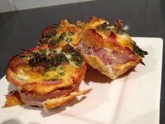 Gluten Free Egg and Bacon Muffins Recipe | FaveGlutenFreeRecipes.com