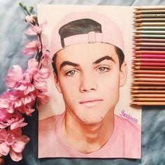 Grayson, you're hot. Stop it. Also I want to send you a couple of my drawings but Idk address . It will be very cool if u would take a pic with them. [ Grayson liked and commented. ]