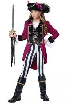 Fashion Pirate Tween Costume