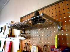 BOLTS HARDWARE STORE ボルツハードウェアストア ALUMINUM SHELF - 良質な道具とアパレルの通販サイト|FUSSA GENERAL STORE Loft, Bed, Furniture, Home Decor, Decoration Home, Stream Bed, Room Decor, Lofts, Home Furnishings