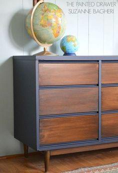 - Repurposed Furniture Vanity Sinks - Plywood Furniture DIY How To Make - Refurbished Furniture, Plywood Furniture, Repurposed Furniture, Furniture Makeover, Painted Furniture, Home Furniture, Dresser Makeovers, Furniture Vanity, Furniture Ideas