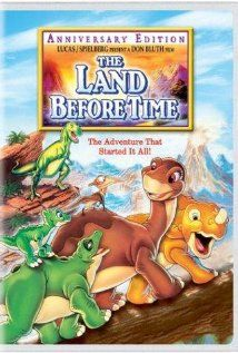 the land before time.. made me fall in love with dinosaurs. especially the scary ones!