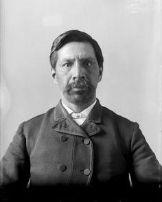 Kewaygeshik (aka Afternoon, aka John S. Ottawa, Abraham Lincoln, Michigan, Native American, Postcards, Photography, Indian, People, Photograph
