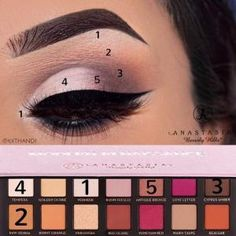 See this Instagram photo by @kxthandi • 664 likes - Modern Renaissance Anastasia Beverly Hills by pauline