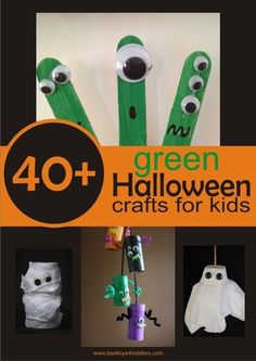 40+ Green Halloween Crafts for Kids + $2,000 CASH giveaway { PAYPAL INT. } - Best Toys for Toddlers