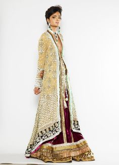 Vipasha Agarwal - Manish Malhotra ! This is amazing!! Fit fit for royalty!