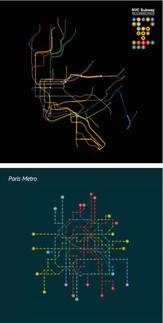 Color Blind Subway Map   Infographics   Pinterest   Subway map  Map     In a series of animated subway maps  well known transit maps from cities  around the world are cleverly compared to their real life geography