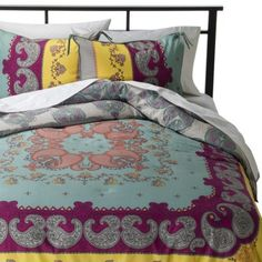 Boho Boutique™ Lola Reversible Comforter Set from Target. Saved to home stuff. Shop more products from Target on Wanelo.