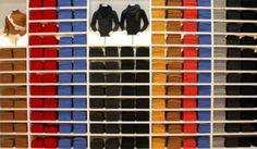 A disposição desta loja de roupa deixa qualquer um reconfortado na alma! - All Rights Reserved - Imgur/reddit