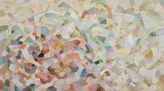 Re-sensitise , 2014,Oil on linen, 108 x 195cm, framed. Photo by Jeremy Dillon