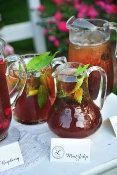 Iced tea bar for non drinkers