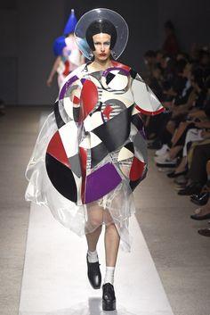 Junya Watanabe Spring 2015 Ready-to-Wear Fashion Show Couture Fashion, Runway Fashion, Fashion Art, Spring Fashion, Fashion Show, Fashion Design, London Fashion, Rei Kawakubo, Planet Fashion