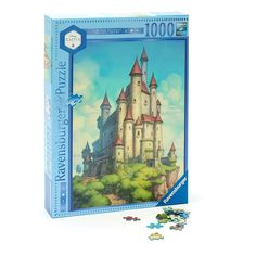 Our Disney Castle Collection becomes the fairest of all with a limited release puzzle featuring the wicked Queen's castle from Snow White and the Seven Dwarfs. This 1,000-piece premium puzzle by Ravensburger features Softclick Technology to create a passtime wish come true.