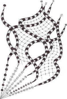 Zentangle made by Mariska den Boer 41