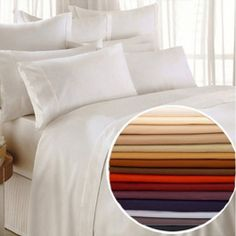 1800 Series Egyptian Comfort Bed Sheet