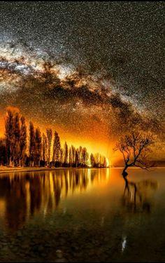 Amazing spectacular autumn scenery