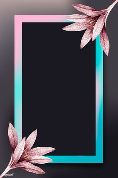 Flower Background Wallpaper, Flower Phone Wallpaper, Framed Wallpaper, Frame Background, Flower Backgrounds, Colorful Wallpaper, Samsung Galaxy Wallpaper Android, Paper Flower Art, Polaroid Frame