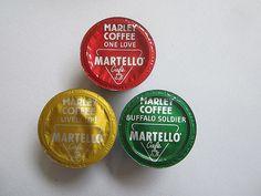 Irie sighting of Martello espresso capsules x Marley Coffee