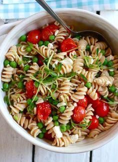 Ziet er yummie uit, lekkere, gezonde pasta.