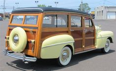 '47 Ford Columbia Rear Super Deluxe 2016 Chevy Silverado, Old Forge, Woody Wagon, Ford Lincoln Mercury, Used Ford, Full Size Photo, Car Ford, Ford Motor Company, Cool Cars