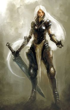 Women Fighters In Reasonable Armor~ladies that actually dress for dealing damage (tumblr)