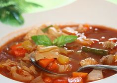 Ww 0 Point Weight Watchers Cabbage Soup.  You can eat as much of this 0-point Weight Watchers cabbage soup as you like. It's so good for you.  Very good recipe.