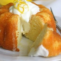 Little lemon yogurt cakes, drizzled with limoncello glaze, are moist, tangy-sweet, and completely irresistible. Try them with whipped cream!