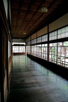 Japanese traditional corridor