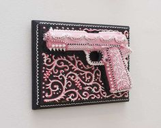 Confectionary Weapon Exhibits - These Cake Gun Sculptures by Scott Hove are Part of Guns & Ecstasy (GALLERY)