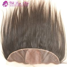"""143.37$  Watch now - http://ali875.worldwells.pw/go.php?t=32311261866 - """"Brazilian Virgin Hair  Lace Frontal Closure 3 part 13x4"""""""" Bleached Knots Virgin 10-20"""""""" straight  Lace Frontal silk base Closure"""" 143.37$"""
