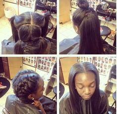 Magnificent Vixen Sew In Sew And Sew Ins On Pinterest Short Hairstyles Gunalazisus