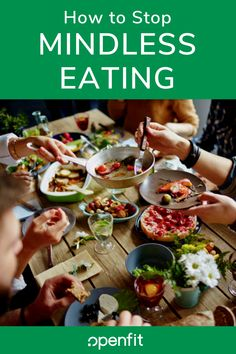 Eating on autopilot better known to researchers as mindless eating happens because were aware of only a fraction of the food decisions we make. So here are some tips for how to stop mindless eating. Nutrition Tips, Diet Tips, Wellness Tips, Health And Wellness, Stop Eating, Clean Eating, Healthy Eating Tips, Healthy Recipes, Mindless Eating
