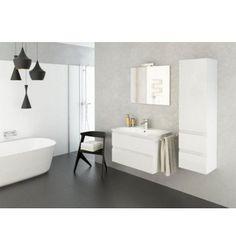 Meuble de salle de bain talia noir 60cm soldes d 39 hiver - Meubles de salle de bain soldes ...